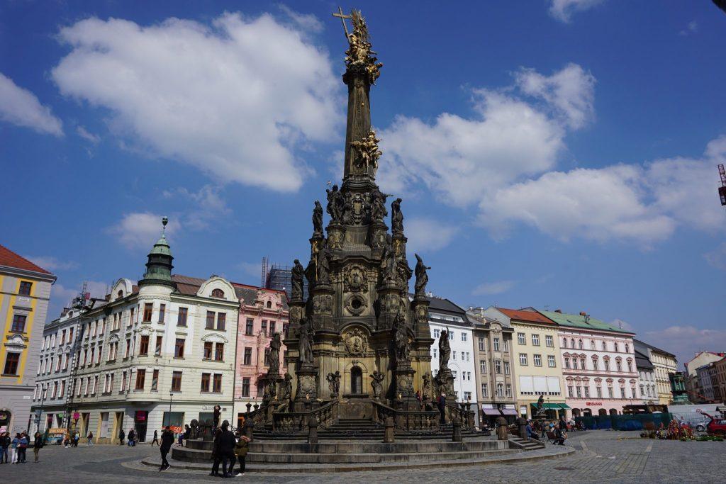 Columna de Olomouc, Republica Checa