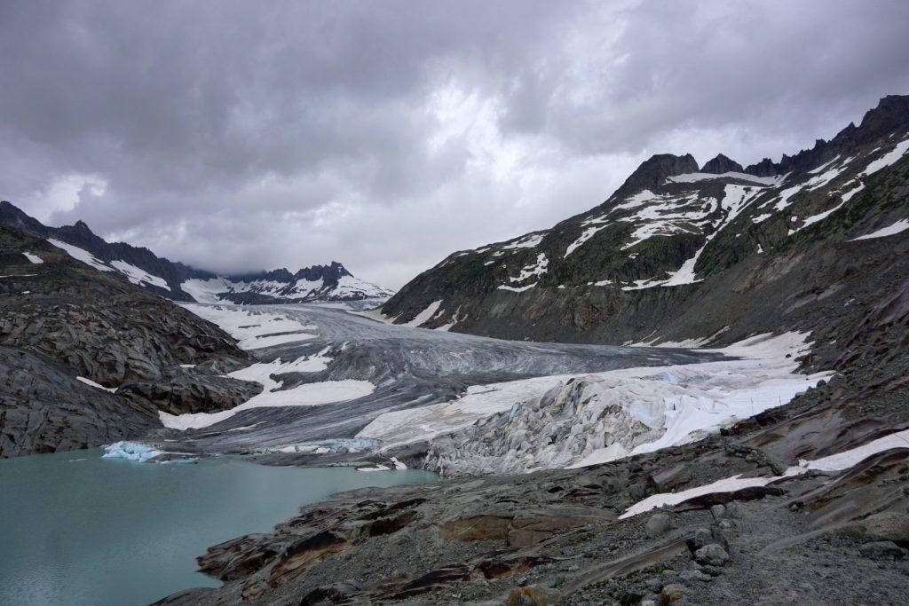 Glaciar del Ródano, Suiza