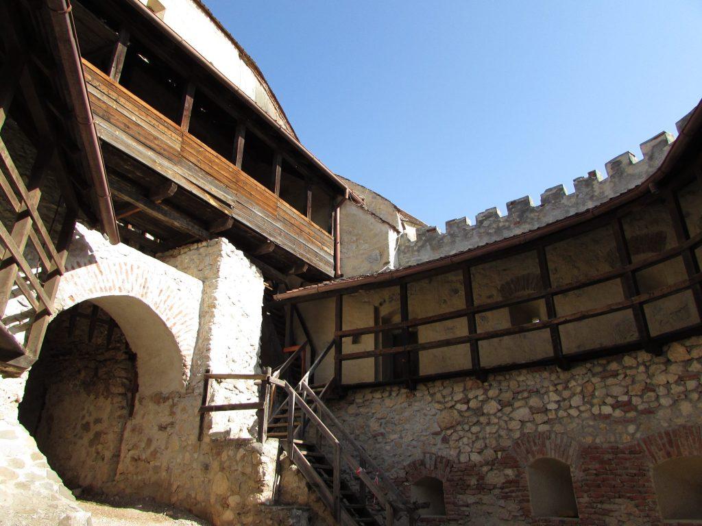 Barbacana de la fortaleza de Rasnov