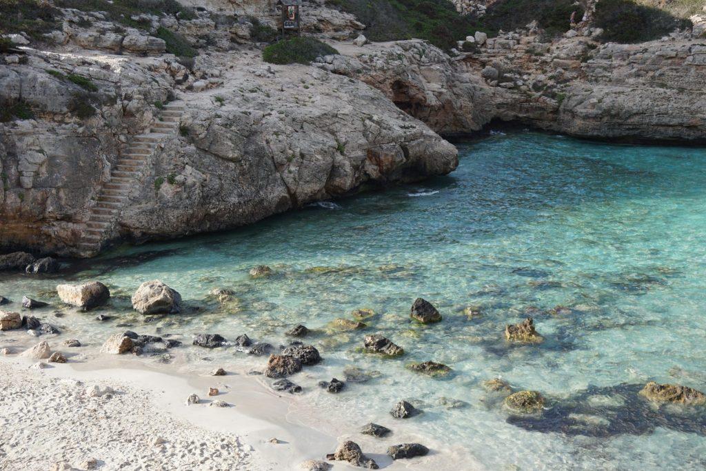 Cala Marmols, un paraíso al sur de Mallorca