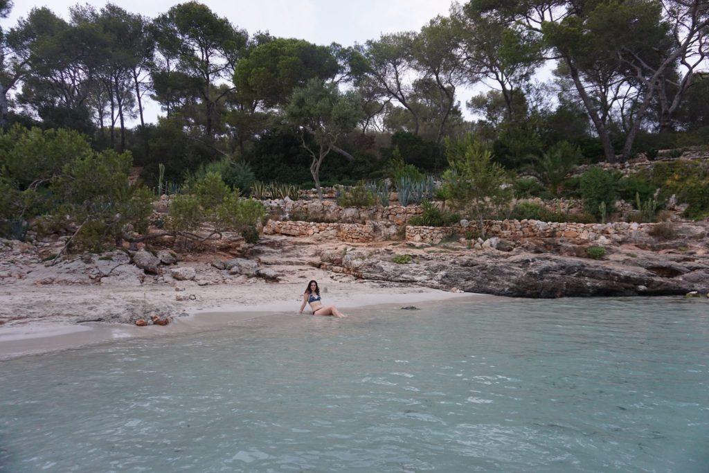 Una tarde en Cala Mitjana, Felantix (Mallorca)