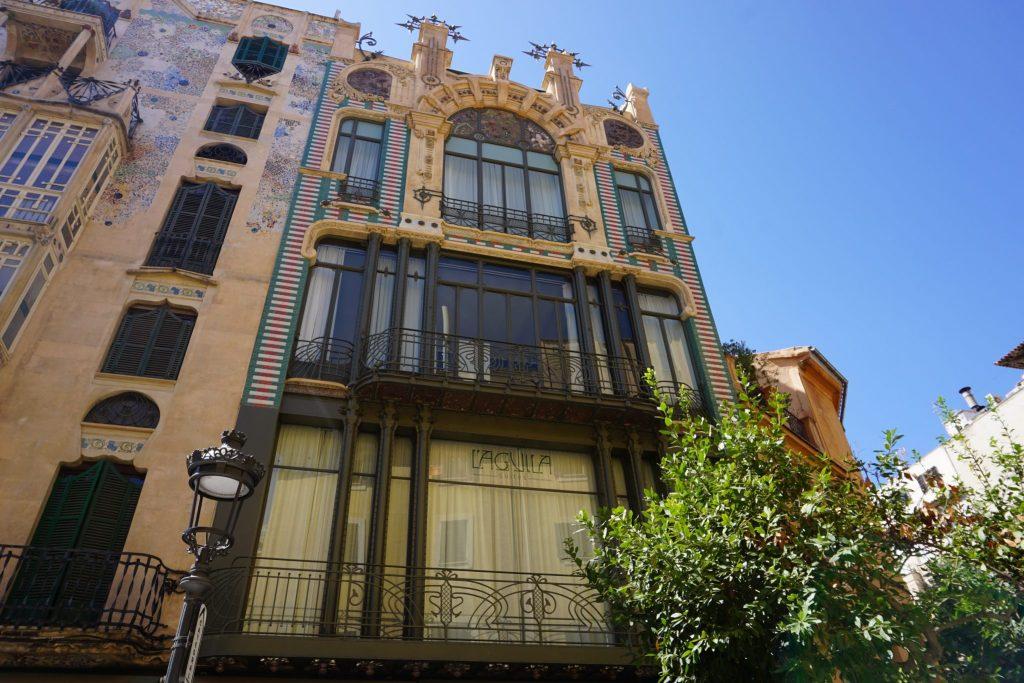 Almacenes El Águila - Ruta modernista por el centro de Palma