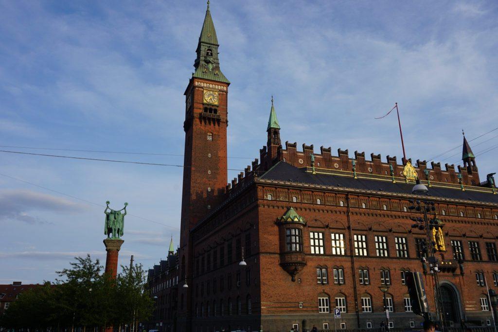 Torre del ayuntamiento de Copenhague