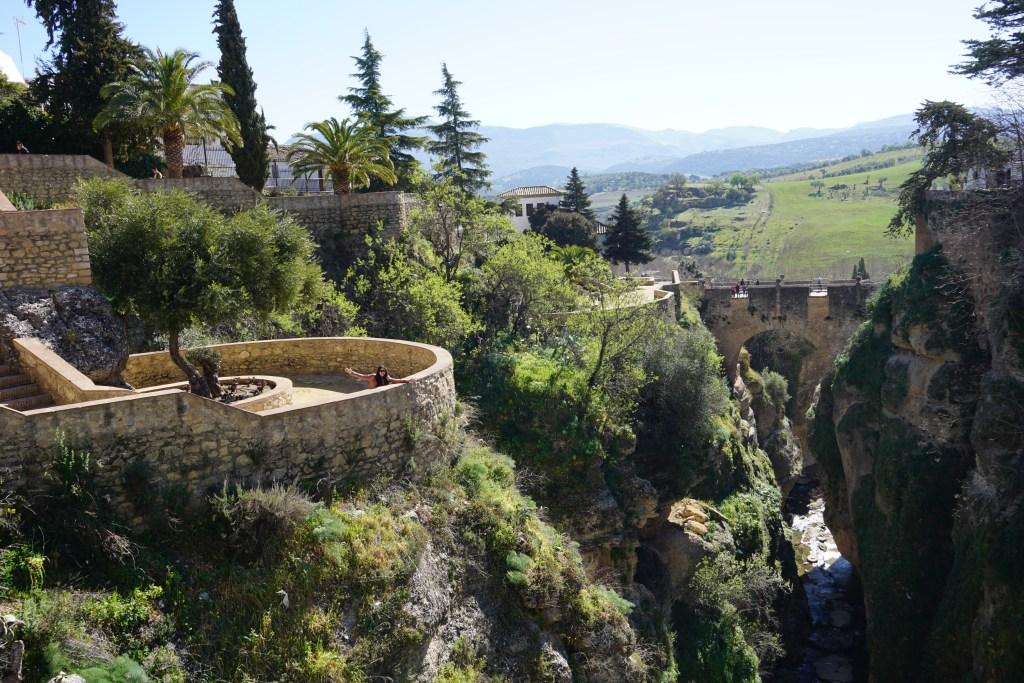 Jardines de Cuenca, Ronda