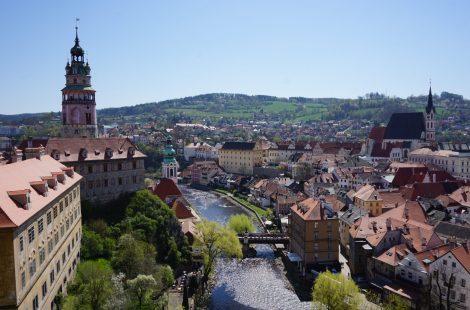 Cesky Krumlov, patrimonio de la humanidad de la República Checa