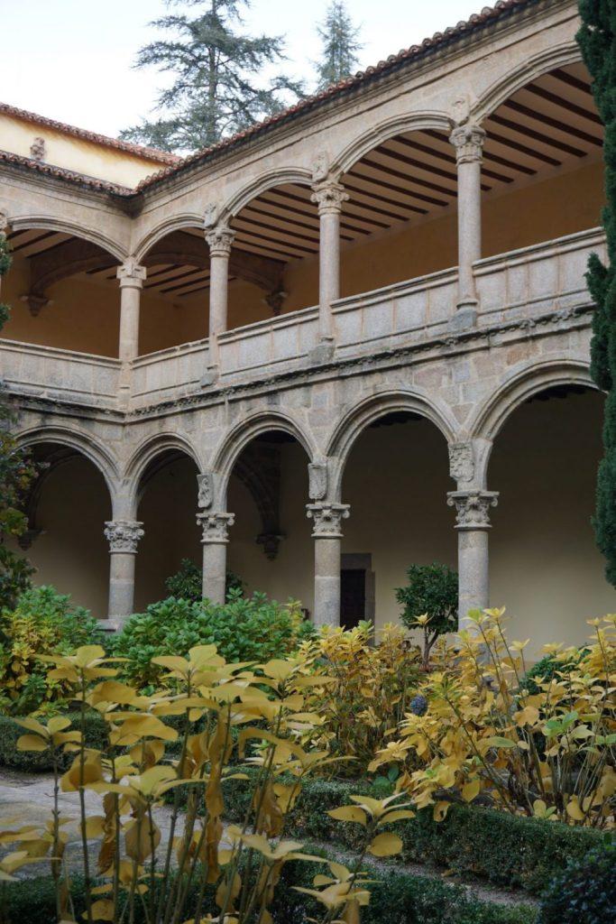 Patio renacentista del Monasterio de Yuste