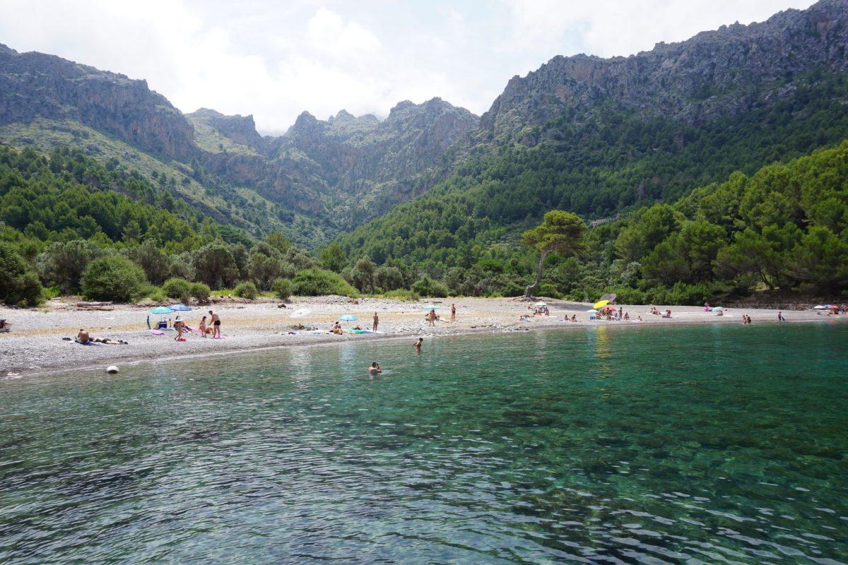 Cala Tuent, la cala más bonita del norte de Mallorca
