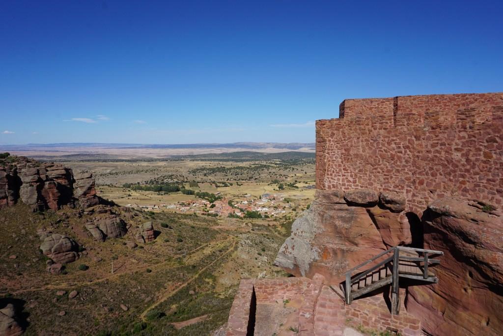 Vistas desde la falsa torre del homenaje