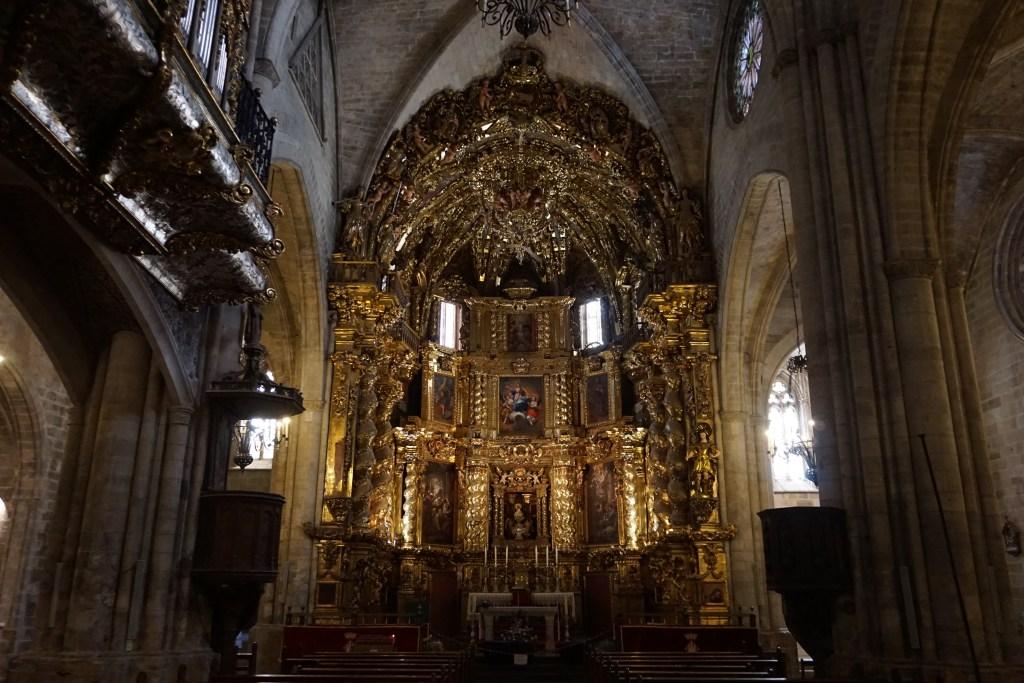 Retablo de la Basílica Arcipestral de Santa María la Mayor de Morella