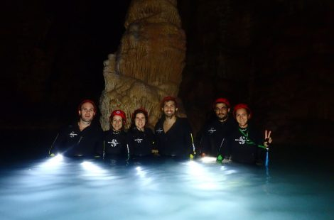 Excursión Cova dels Coloms, Mallorca