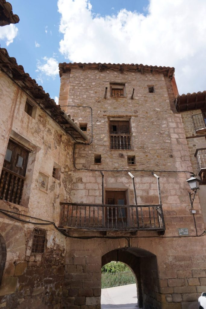 Portal de Cabra, Mora de Rubielos