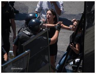 Represión a diputados