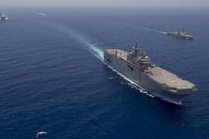 من ثمار المعرض الدولي للصناعات العسكرية لمصر.. اتفاق بين البحرية الفرنسية والمصرية لمدة 5 سنوات