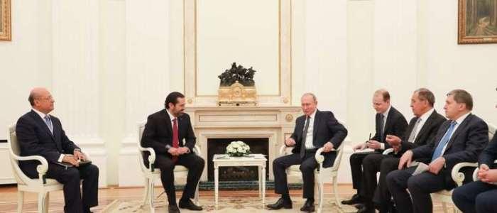 أبرز تصريحات الحريري بعد لقائه بوتين