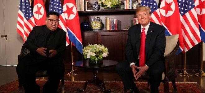 ترامب وكيم يظهران للعالم أنهما أفضل الأصدقاء