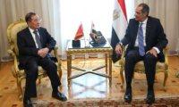 """وزير الاتصالات يستقبل سفير الصين.. و""""آيقوه"""" يشيد ببرنامج الإصلاح المصرى"""