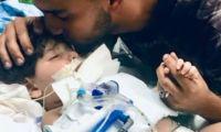 الأم اليمنية تتمكن بعد عناء من دخول الولايات المتحدة لرؤية ابنها المحتضر
