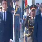 بدء القمة المصرية الفرنسية بين الرئيسين السيسي وماكرون بقصر الاتحادية