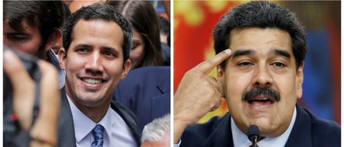المساعدة الانسانية سلاح سياسي في صلب اختبار القوة بين مادورو وجوايدو