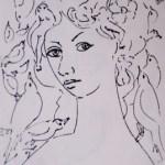 صورة المرأة وتفعيلها في الإسكتش مع الشخوص.. تكوينات تعبيرية المفاهيم المجردة في تجربة التشكيلي اللبناني مصطفى حيدر