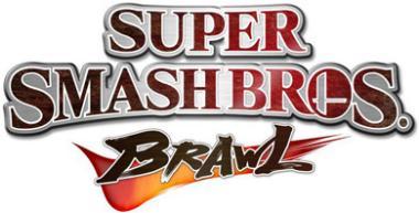 Logo de Super Smash Bros. Brawl.