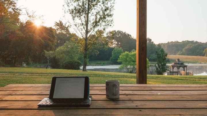 Morning Sunrise at the Pond