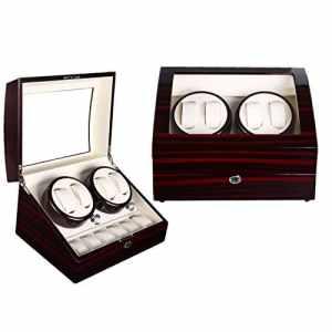 NEW Premium Tourne-montre Montres Boîte une horloge avec boîte automatique Watch automatique Montres? Muet moteur? mabuchi Auto wb6936 # 2