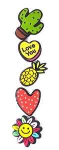 Bijou Bouton à Pression métal – Bijoux interchangeable – motif emoji snapchat – 18mm Snaps – Différent coloris – Lot de 5pcs – Mon-bijou-pression
