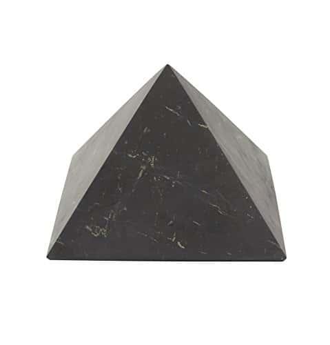 Pyramide Shungite Non Poli 10cm: Pierre De Guérison