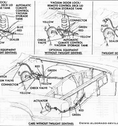 headlights geralds 1958 cadillac eldorado seville 1967 cadillac ford mustang wiring diagram on 1967 headlight vacuum diagram cadillac [ 1200 x 906 Pixel ]