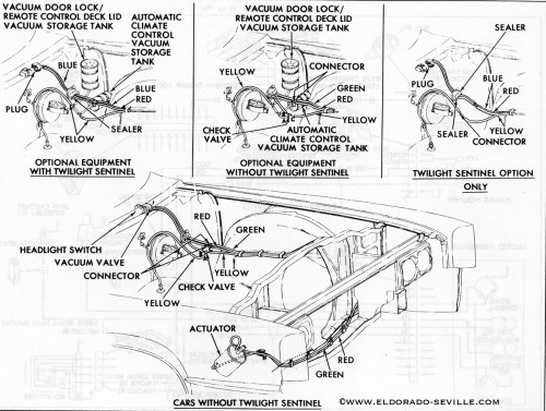 small resolution of 1957 cadillac headlight switch diagram
