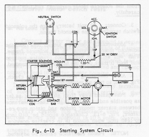 small resolution of starter diagram geralds 1958 cadillac eldorado seville 1967cadillac deville starter wiring 20