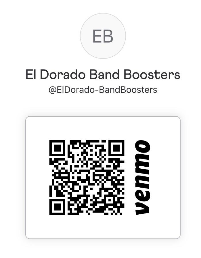 » PayPal & Venmo El Dorado HS Band and Color Guard