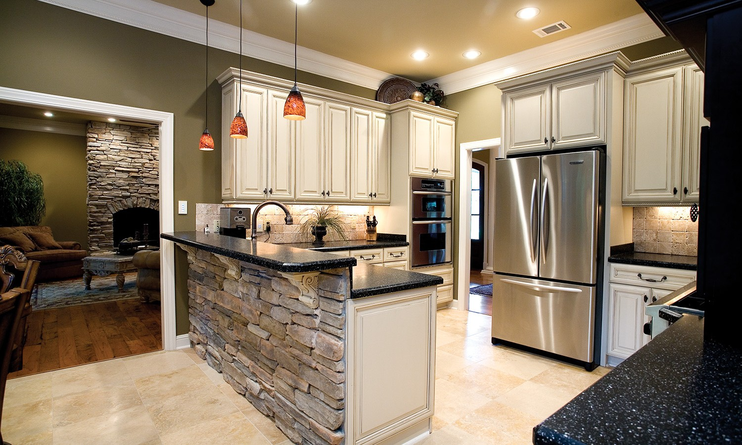 hight resolution of es rustic ledge saratoga interior kitchens 2