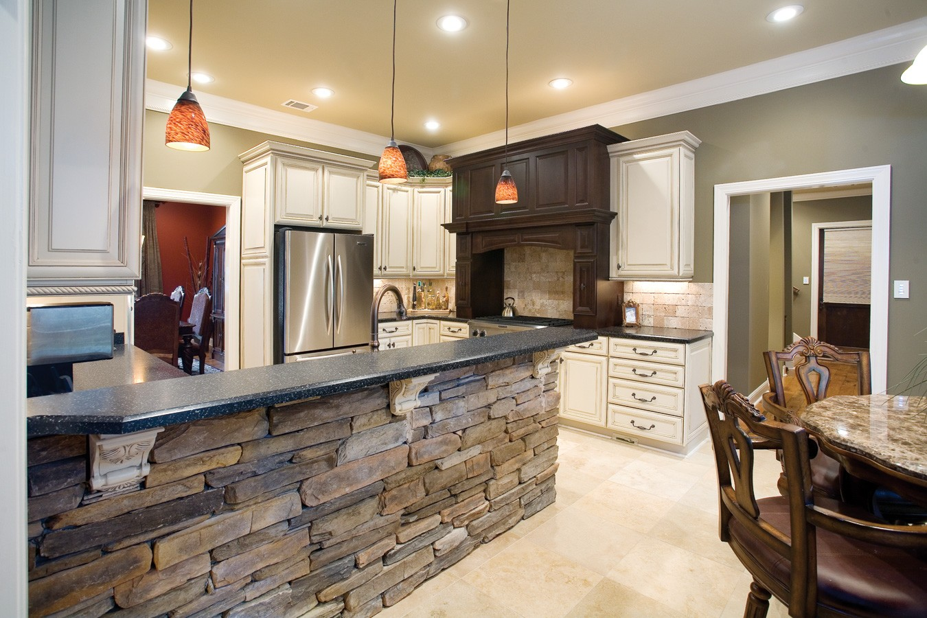 hight resolution of es rustic ledge saratoga int kitchen