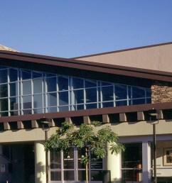 es rustic ledge sawtooth exterior facade institutional kaiser [ 1500 x 900 Pixel ]