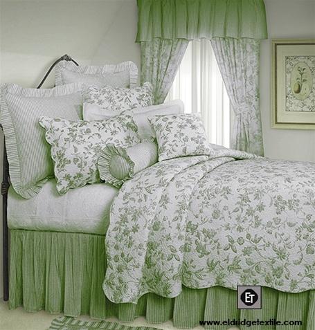 Brighton Toile elegant Williamsburg design quilt 100 cotton prewashed and preshrunk