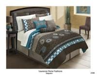 Saquaro chocolate brown comforter set, southwest design ...