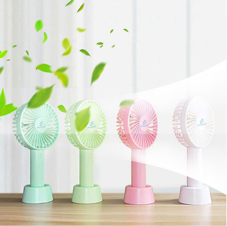 Mini Fan Ventilador Pila Recargable