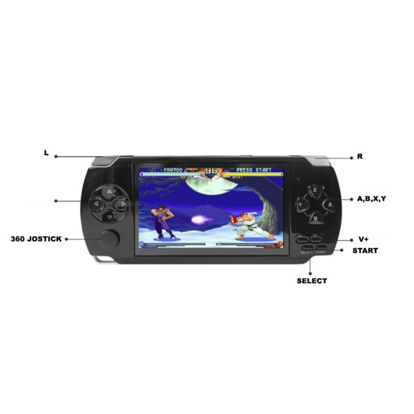 4.3 Pulgadas Gba Handheld Game Console Video Game Player