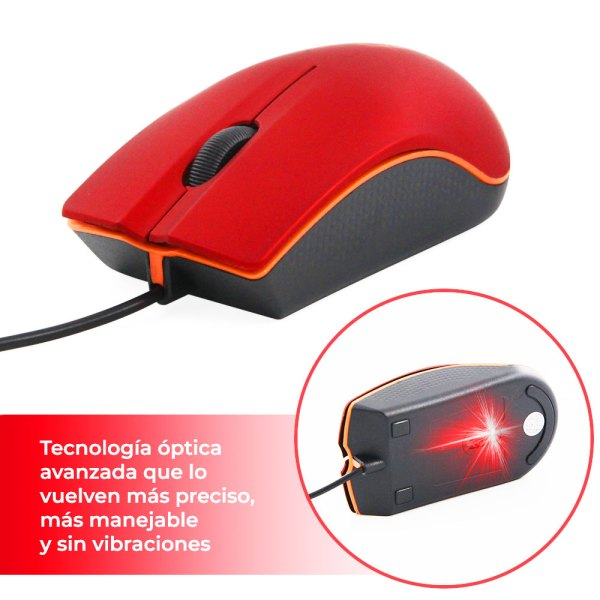 Mouse Usb para Computador Pc Laptop