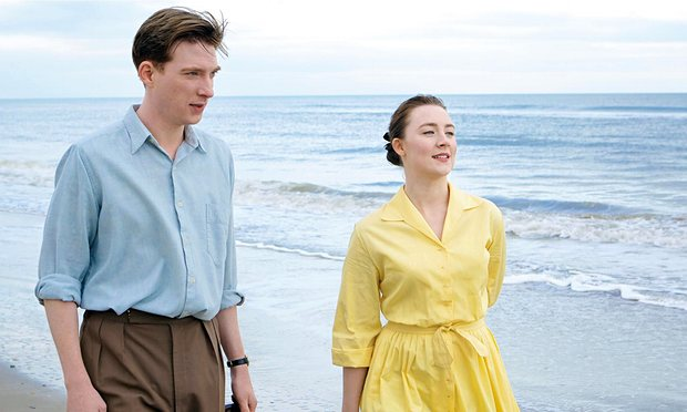 Eilis and Jim Farrell, played by Domhnall Gleeson Photograph: Allstar/Lionsgate