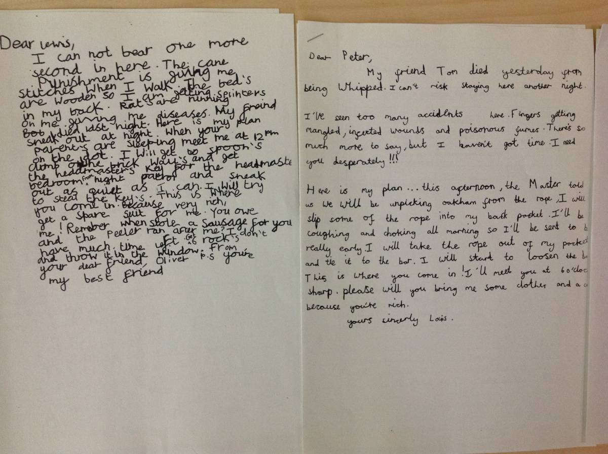 Look At Our Writing Eleanor Palmer Primary School