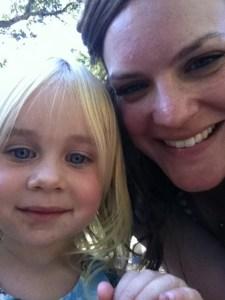 Meghan and Kelli's daughter, Ophelia