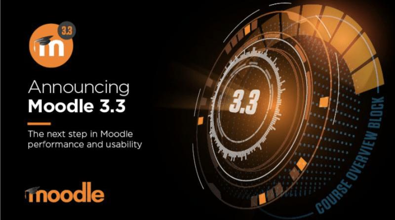 Moodle 3.3