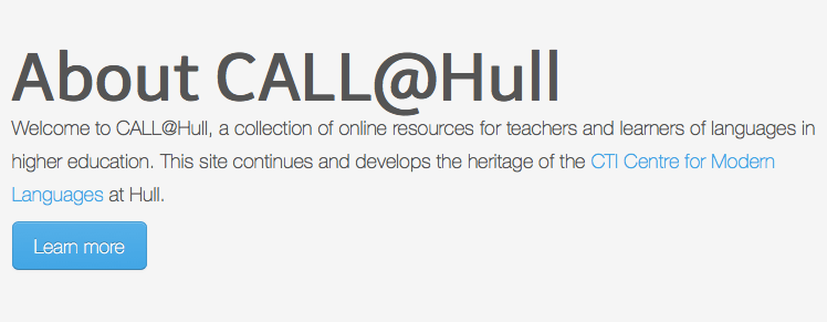 Call@Hull logo