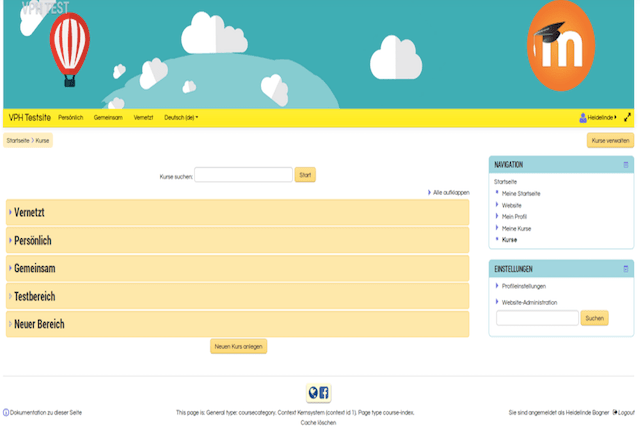 Moodle Campus theme