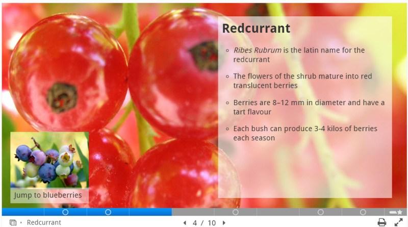 H5P Course Presentation