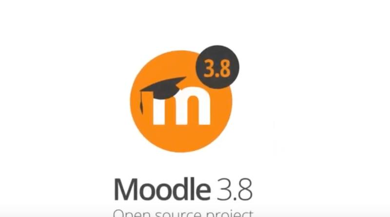 Moodle 3.8 logo
