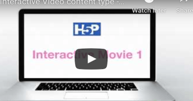 H5P Interactive Movie